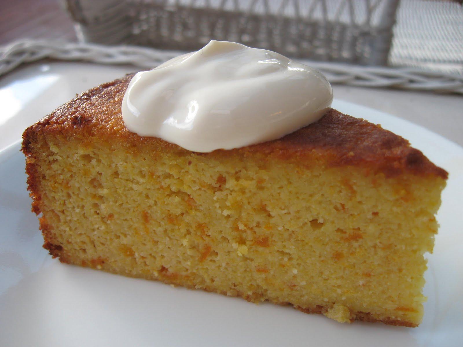 Greek Orange And Almond Cake Recipe
