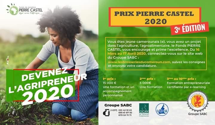 Prix Pierre Castel 2020 : Les candidatures sont ouvertes
