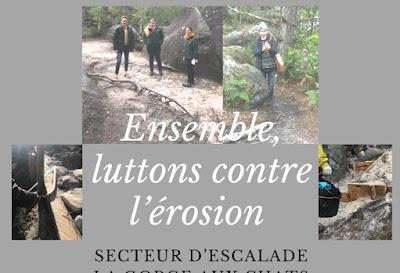 [AGENDA] La rentrée, c'est aussi la reprise des chantiers bénévoles de lutte contre l'érosion à Bleau