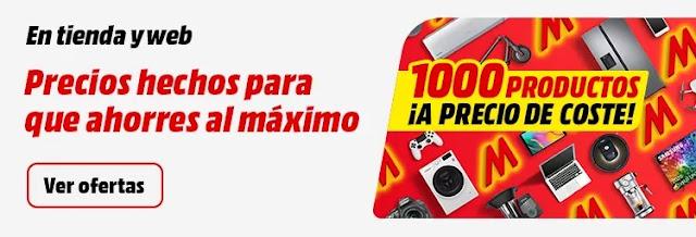 Top 10 ofertas 1000 productos a precio de coste de Media Markt