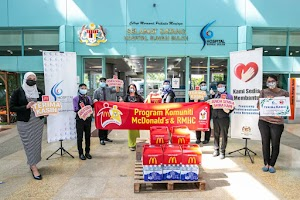 McDonald's Malaysia Taja Makanan Untuk Hospital Sungai Buloh Sebagai Tanda Sokongan & Penghargaan