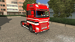 DAF Euro 6 tuning Edit version 2.7