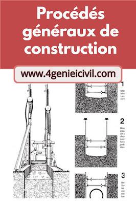 Cours de Procédés génbéraux de construction