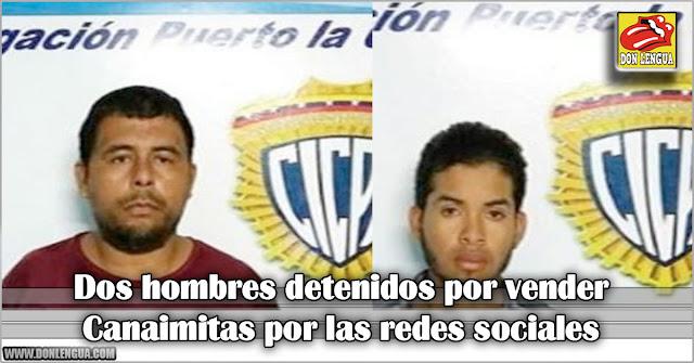 Dos hombres detenidos por vender Canaimitas por las redes sociales