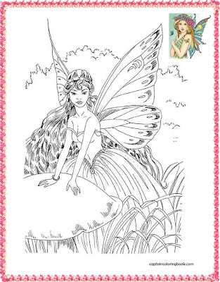coloring pages with fairies