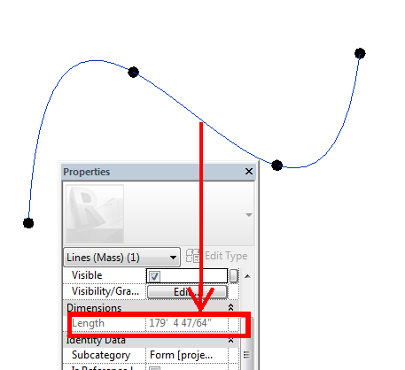 Report the Length of Any Curve including Splines and Egress