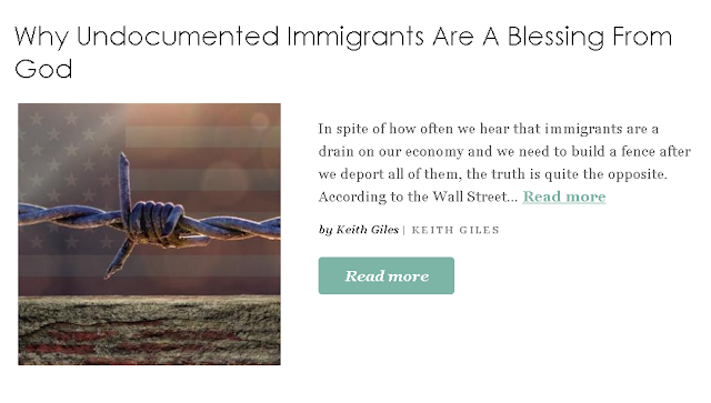 http://www.patheos.com/blogs/keithgiles/2018/10/why-undocumented-immigrants-are-a-blessing-from-god/?utm_source=Newsletter&utm_medium=email&utm_campaign=Best+of+Patheos&utm_content=57