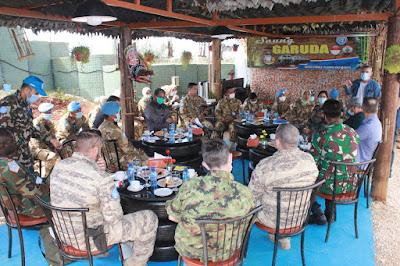 Tim Wasrik COE UNIFIL Kunjungi Satgas Yonmek XXIII-O Indobatt