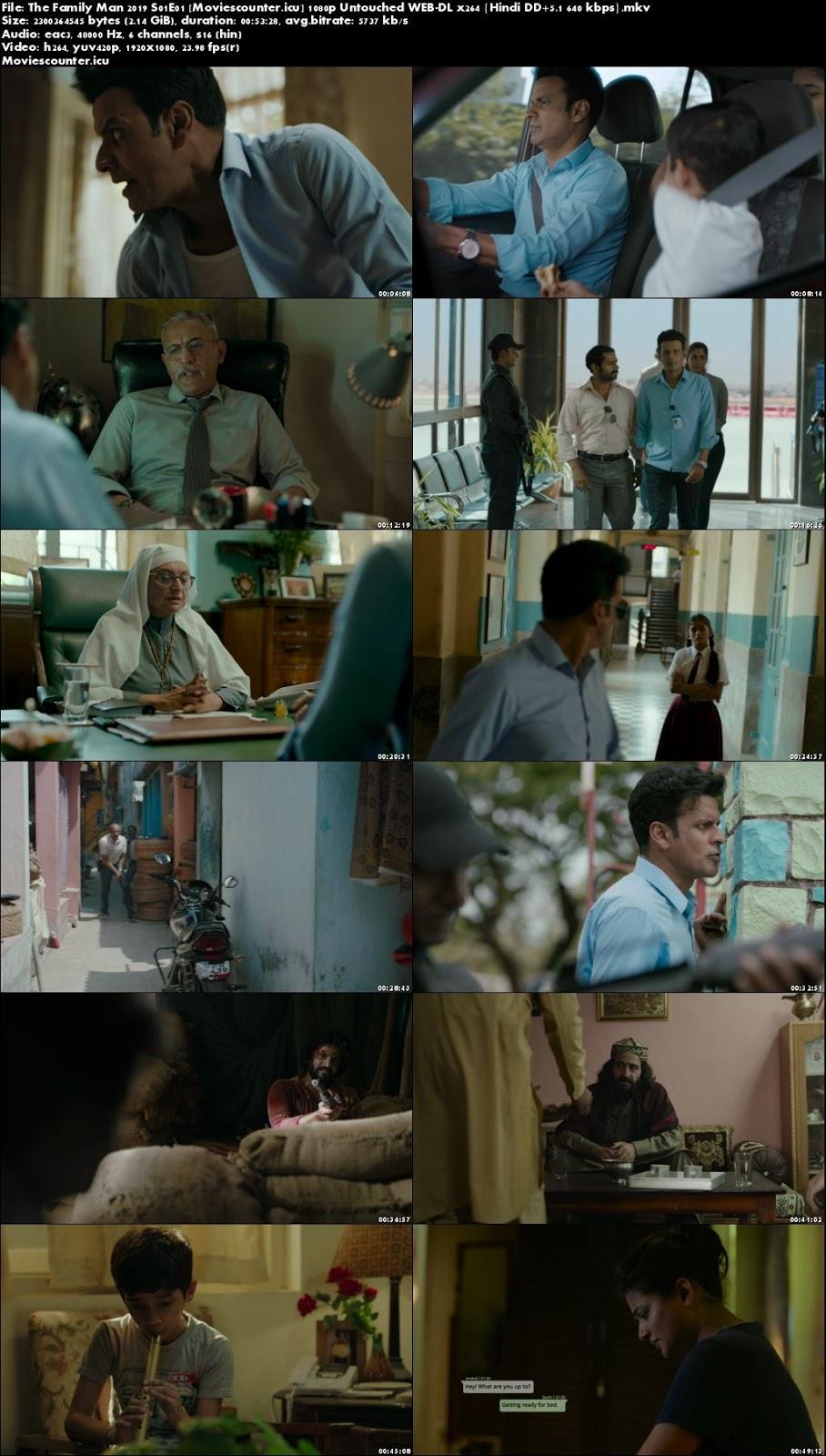 Screen Shots The Family Man 2019 Seasons 1 Full Episodes 1080p HD