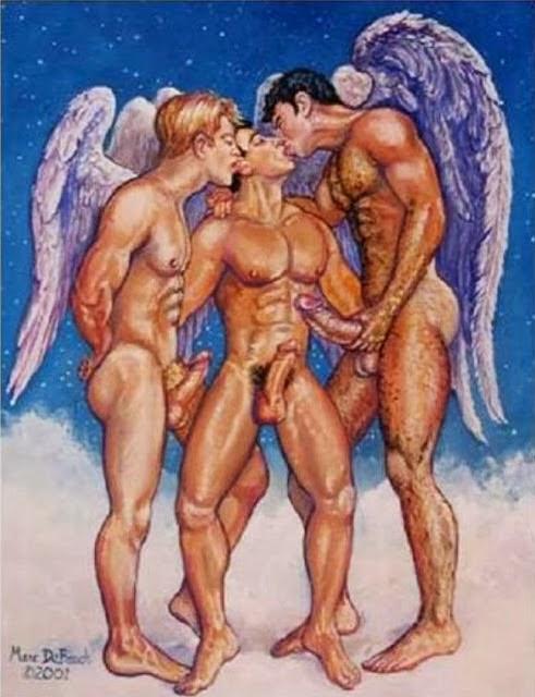 Гей Порно Ангел И Демон