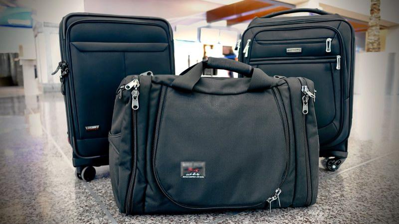 كيفية حزم الحقائب المحمولة علي اليد المسموح بها داخل الطائرة