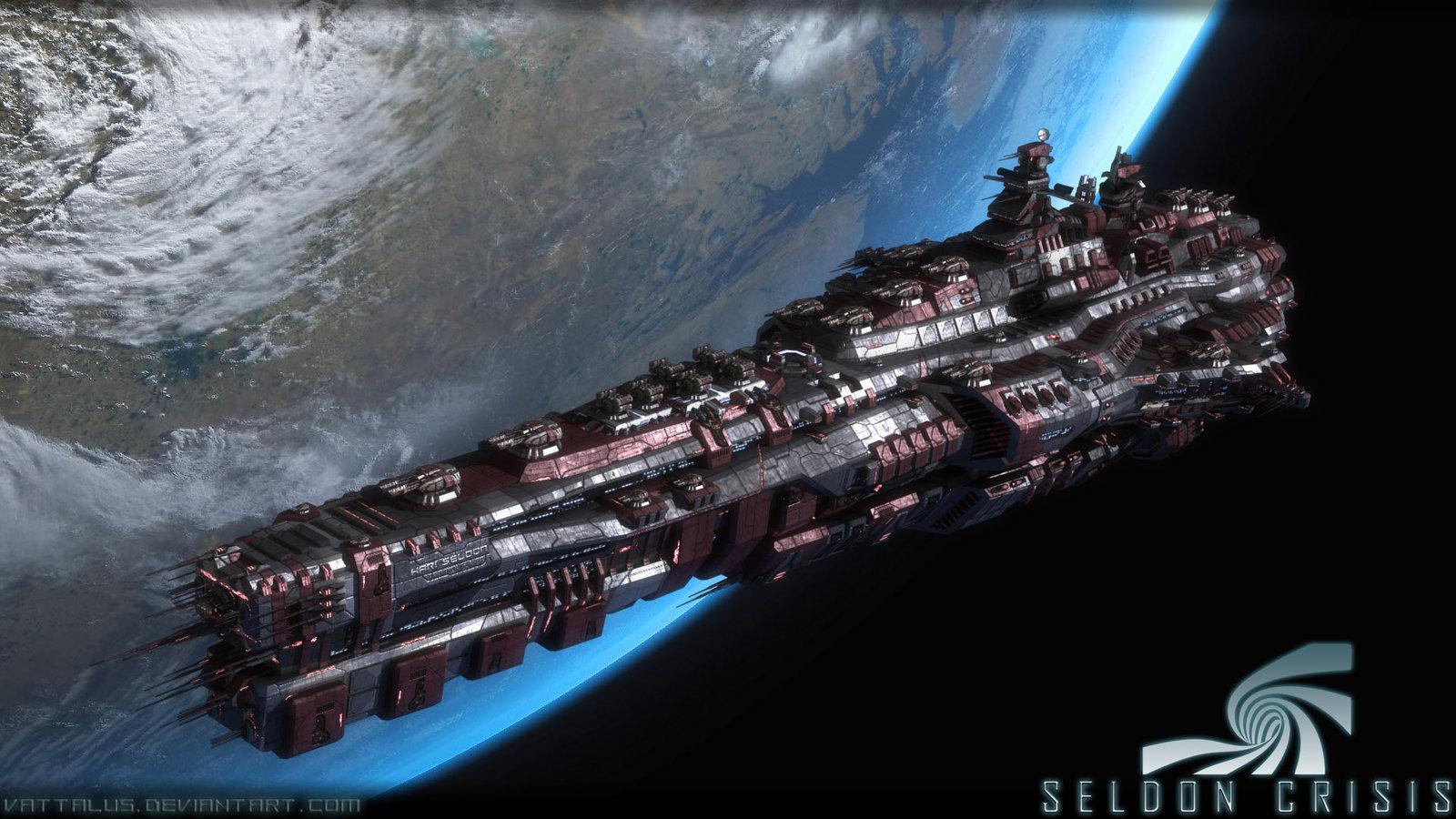BANCO DE IMÁGENES: Naves Espaciales De Ciencia Ficción
