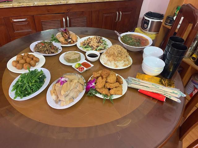 Đặt cỗ tại Nguyễn Chánh- Dịch vụ nấu cỗ tại nhà Cầu Giấy