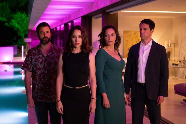 Natalia Verbeke, Cristina Plazas, Miquel Fernández y Oriol Tarrasón en 'El Nudo'