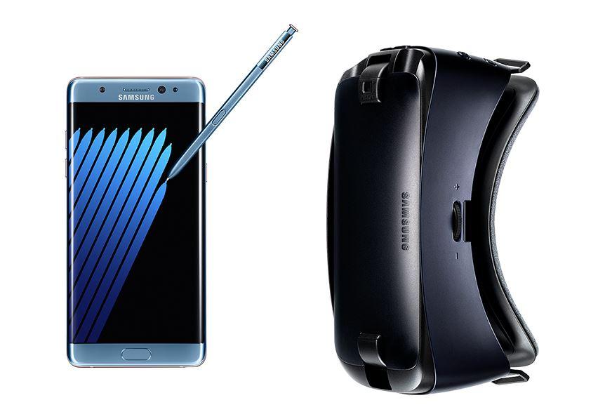 Contenuto confezione  Samsung Galaxy Note 7 - Accessori scatola con video unboxing