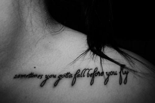 Tattoos Change: Tattoo Quotes Tumblr