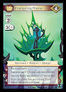 My Little Pony Changeling Throne Defenders of Equestria CCG Card
