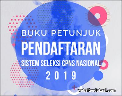 Buku Petunjuk Pendaftaran CPNS 2019 Versi 01.00