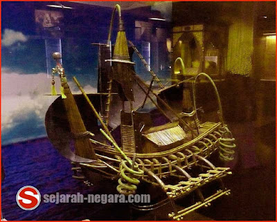 Foto Kapal Majapahit di Museum Negara Malaysia, Kuala Lumpur, Malaysia
