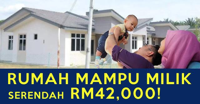 Rumah Mampu Milik Serendah RM42,000 Sahaja! LUAS & STRATEGIK (Cara Tempahan / Book Dibuka)