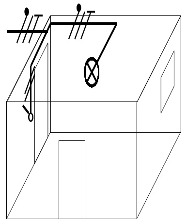 montage simple allumage electricite de batiment. Black Bedroom Furniture Sets. Home Design Ideas