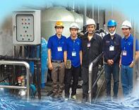thiết kế hệ thống lọc nước sông