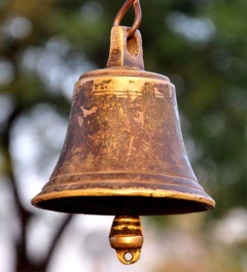 Number of Times a Bell Should Be Rung in Hindu Temple