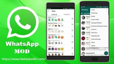 Kelebihan dan kekurangan memakai whatsApp mod