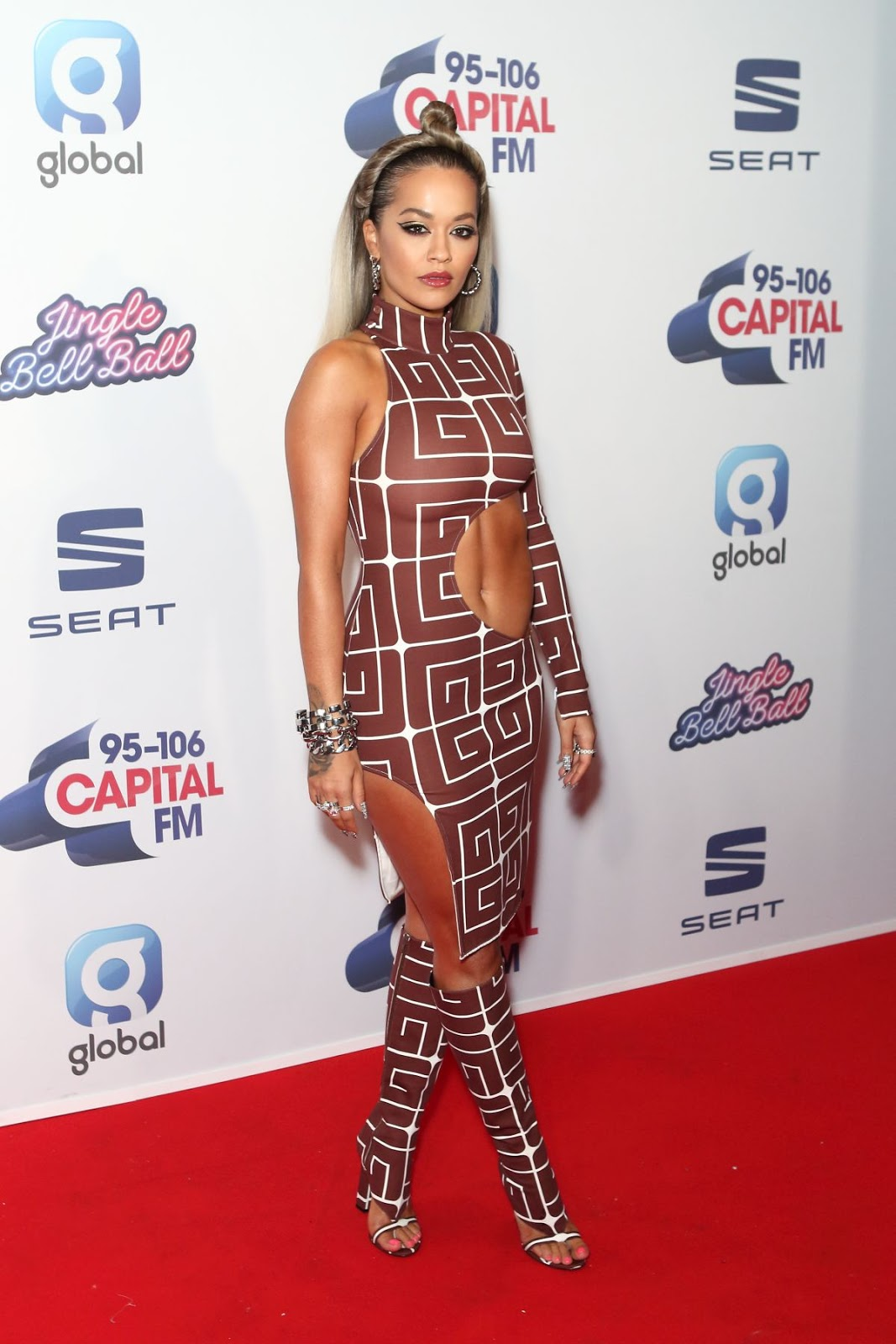 RITA ORA at Capital's Jingle Bell Ball 2019 in London 12/07/2019