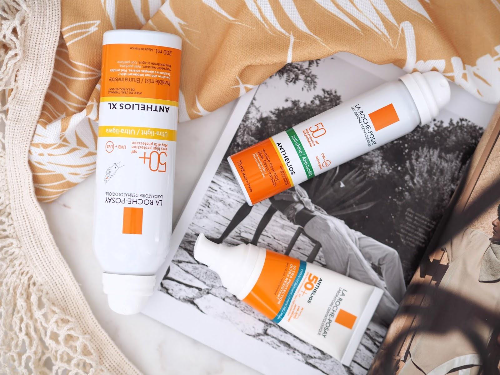 La Roche-Posay Anthelios SPF 50, slnečná kozmetika, vysoká slnečná ochrana, citlivá pokožka, slnečná alergia