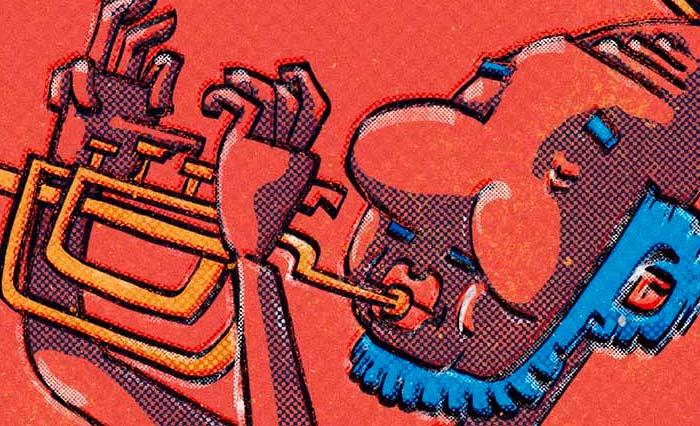 Wallpaper trompetista por Hache Holguín