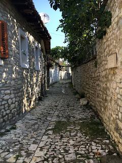 Le chateau de Berat en Albanie