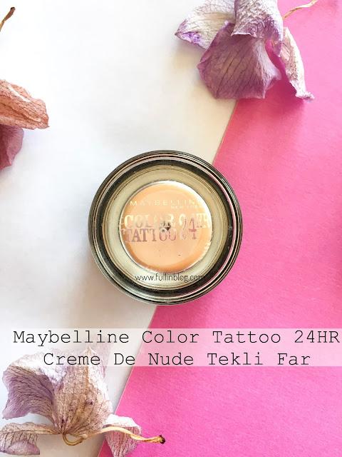 maybelline color tattoo 24hr creme de nude far