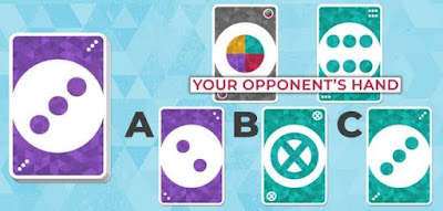 Your opponent can't see your hand. Which card should you play?