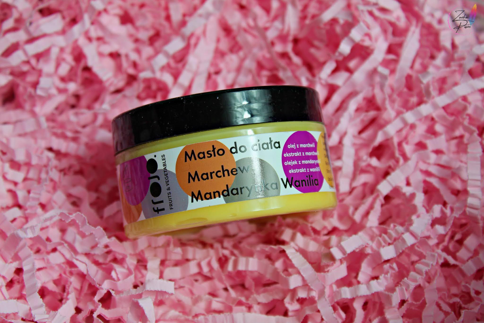 FROJO Masło do ciała Marchewka, mandarynka i wanilia