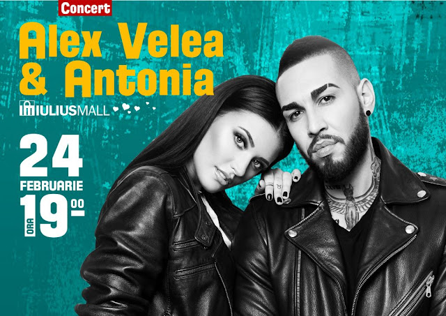 Concet Alex Velea & Antonia la Timisoara - 24 feb 2017