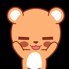 Gom Gomi: Cute Bear - Animated
