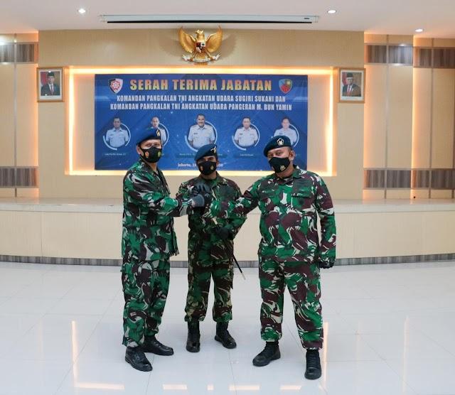 Tongkat Komando Lanud Pangeran M. Bun Yamin diserahterimakan