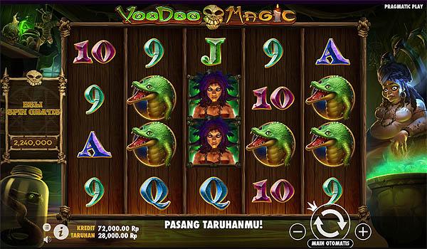 Main Slot Gratis Indonesia - Voodoo Magic (Pragmatic Play)