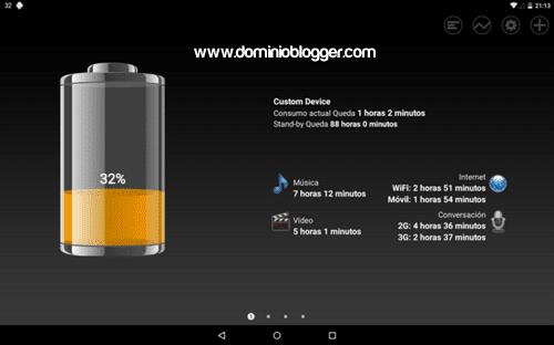 Battery HD gratis para Android