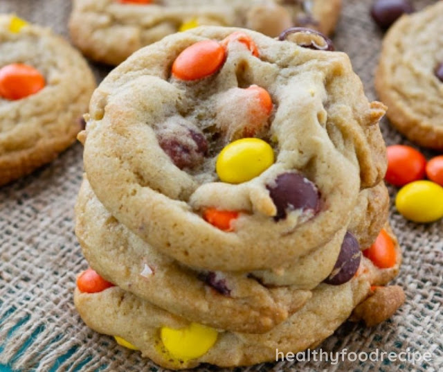 REESE'S PIECES COOKIES RECIPE