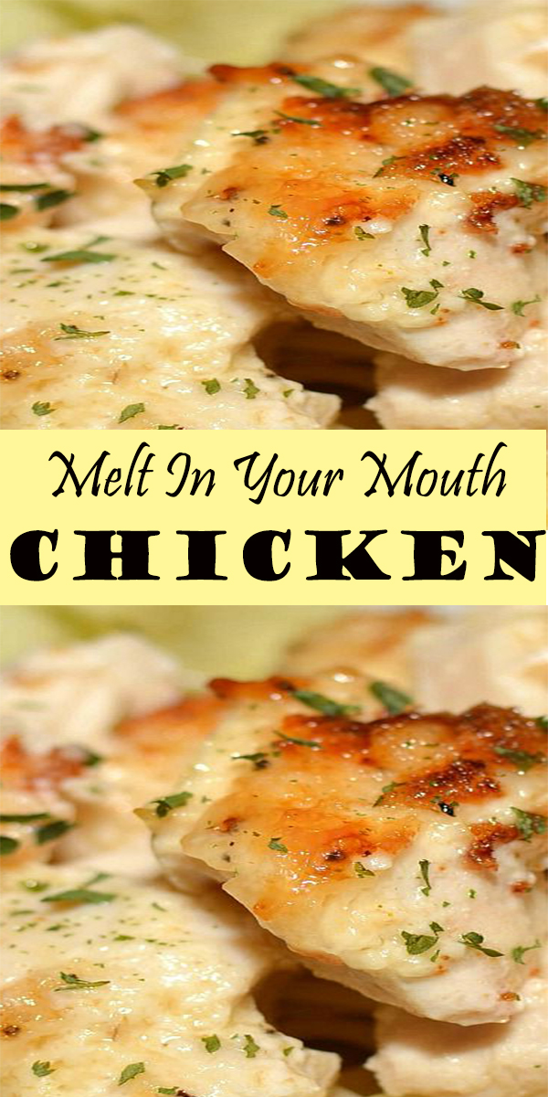 Melt In Your Mouth Chicken Bake #MeltInYourMouth #Chicken #Bake #MeltInYourMouthChickenBake