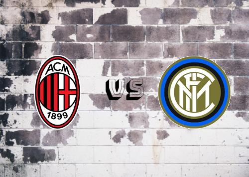 Milan vs Internazionale  Resumen y Partido Completo