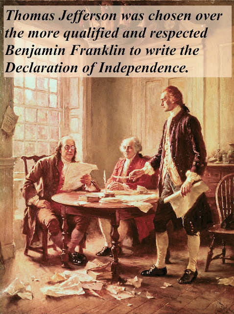 benjamin franklin, john adams, thomas jefferson, drafting the declaration of independence. A Republic, If and Other stories of Past Leaders Responding to Now. marchmatron.com