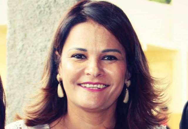 Ex-prefeita de Almenara Fabiany Ferraz
