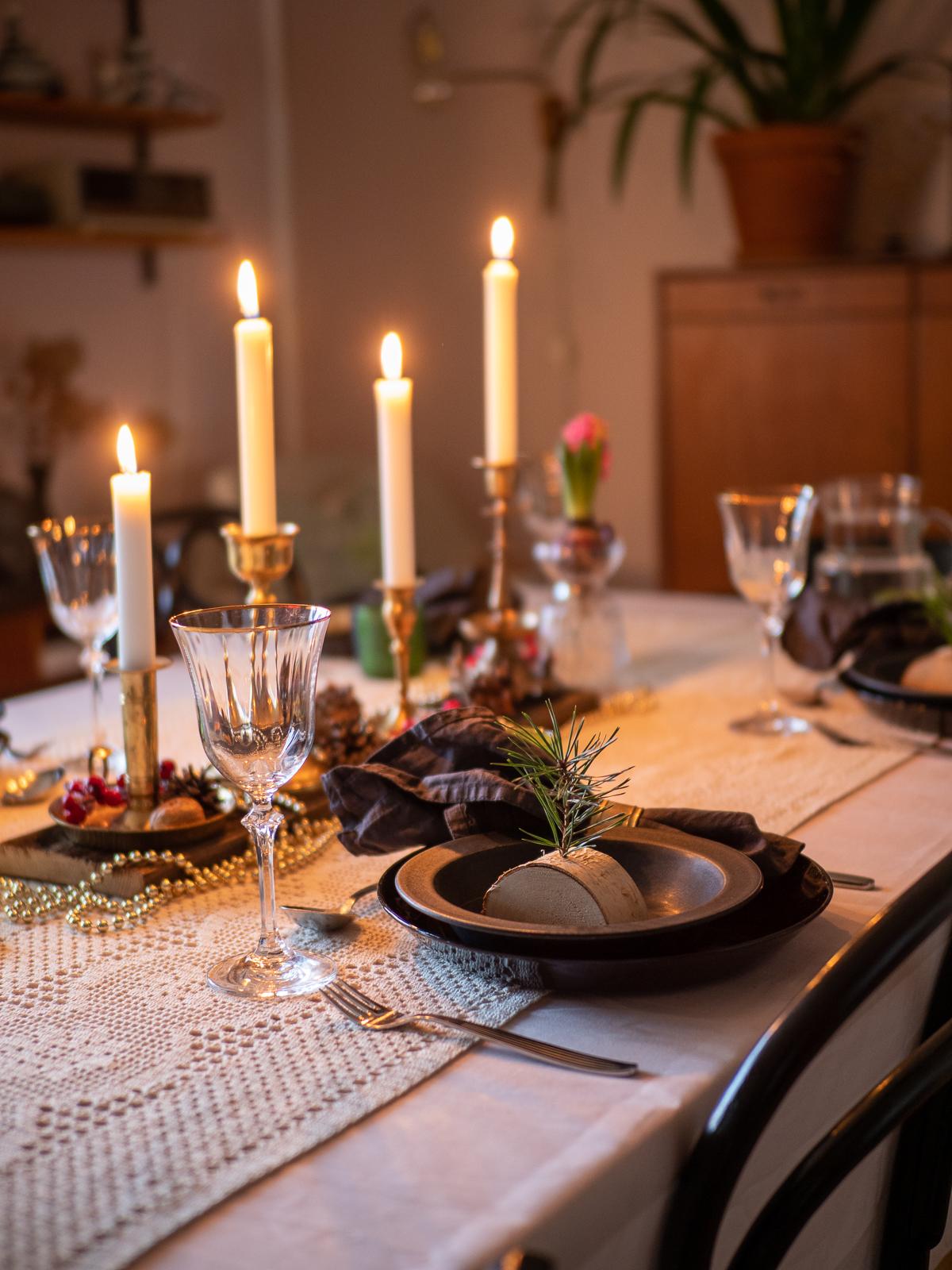 ideoita joulupöydän kattaukseen