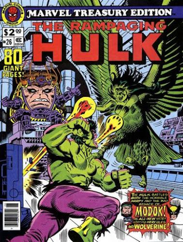 Marvel Treasury Edition #26, The Rampaging Hulk