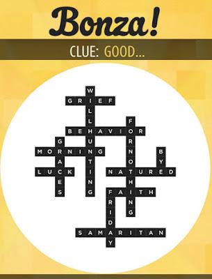 November 19 2017 Bonza Daily Word Puzzle Answers