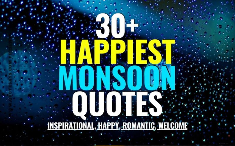 Monsoon Quotes, Romantic Monsoon Quotes