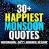 30+ Happy & Romantic Monsoon Quotes & Captions to Enjoy | Monsoon Quotes
